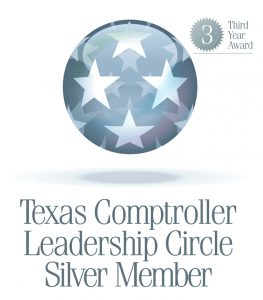 Texas Comptroller Leadership Circle Silver Member