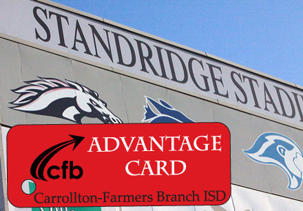 standridge stadium, advantage card