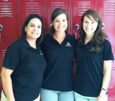 Three staff members that make up the counseling office