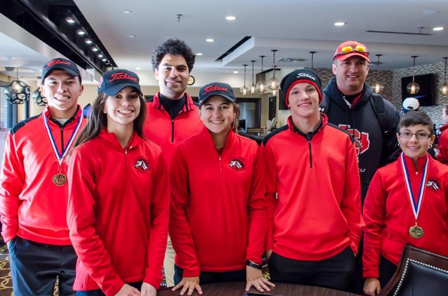 golf team of creekview high school