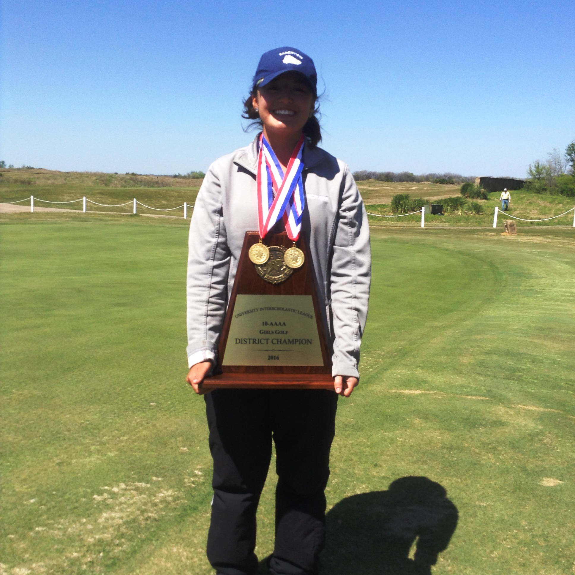 Ranchview High School District Girls' Golf Tournament Winner, Ava Castillo