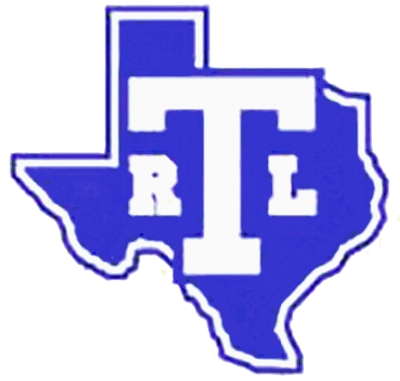 Turner High school with a shape of texas