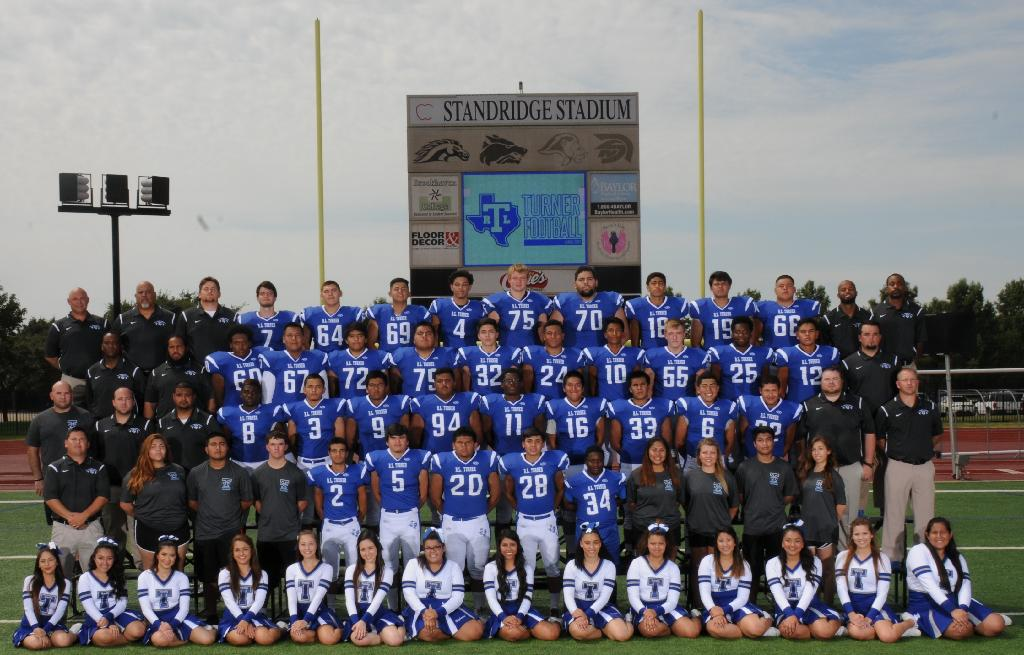 Varsity football team of turner high school