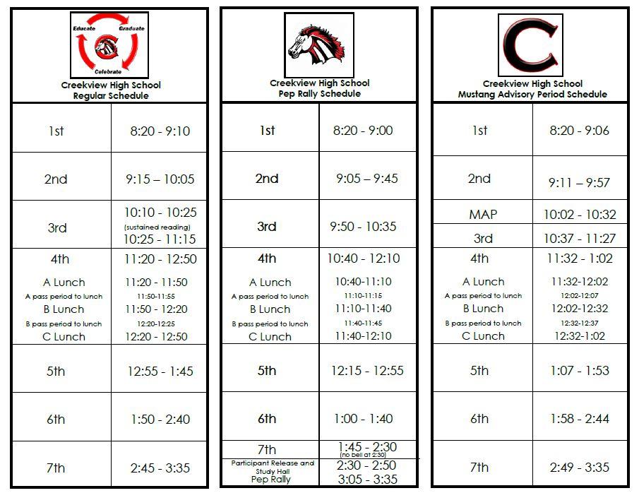 Cfbisd Calendar.Bell Schedule Carrollton Farmers Branch Isd
