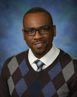 Assistant Principal of Landry Elementary, Timothy Mitchell