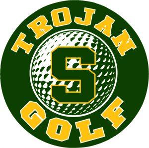 Trojan golf with smith logo