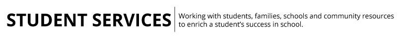 Student Services Header
