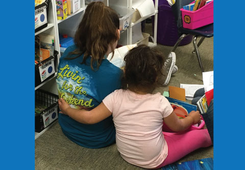 Blalack students came to read to the Country Place students as part of their day of service. All students enjoyed the experience and got to read some great books!