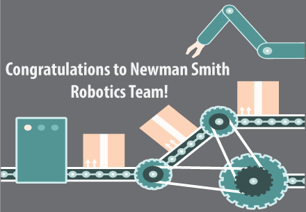 Congratulations to Newsman Smith's Robotics Team