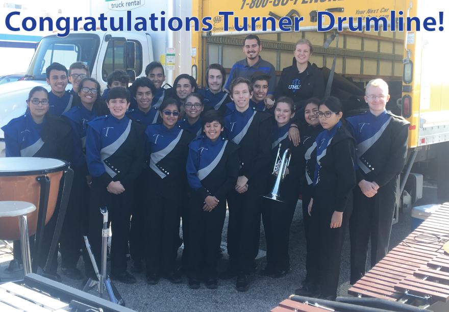 Congratulations Turner Drumline!