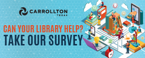 Advertisement: City of Denton Library Survey