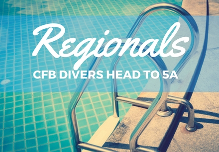 CFB Divers head to 5A Regional Competition