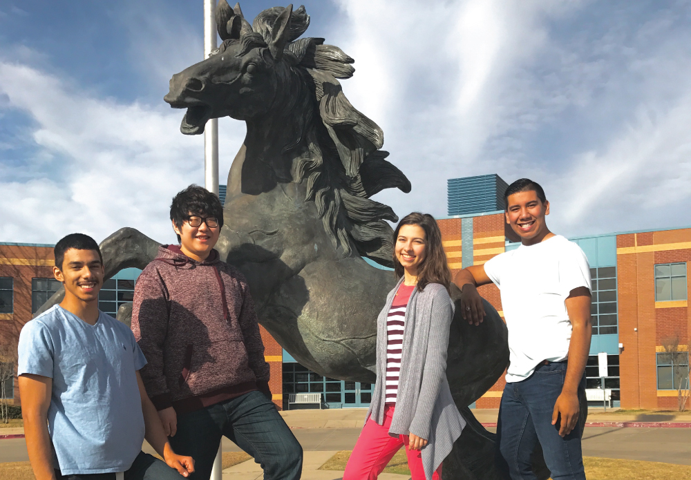 On January 7, five students from Creekview High School made their way to Keller, Texas to compete in the fiercely competitive Area B choral auditions.