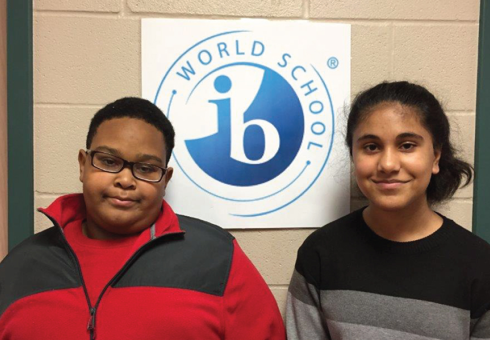 Barbara Bush Middle School is pleased to announce the results of the annual spelling bee. Out of 120 contestants, we congratulate Trace Bennett for winning and Hoor Tariq for being the runner up! Trace will represent our school at the CFB District Spelling Bee next week! Congratulations to these two for their high academic achievement!