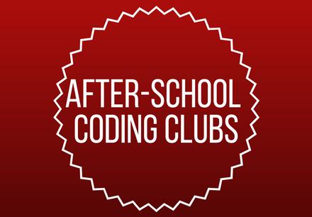 After school coding at Barbara Bush Middle School