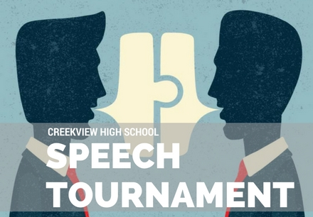 Creekview Speech Tournament