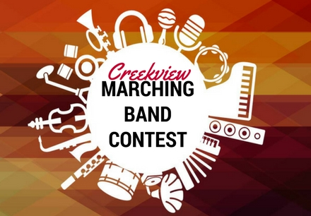 Creekview marching band contest
