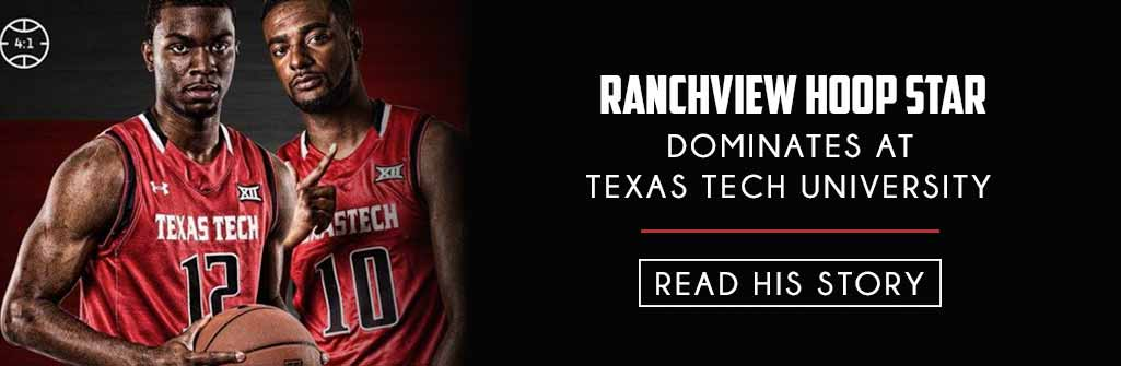 Ranchview Basketball Star Slider for School page