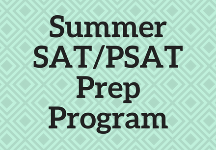 Summer SAT/ACT Prep Program
