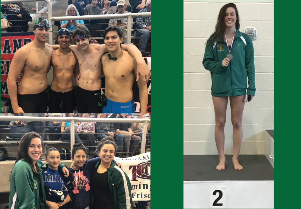 This past weekend your Trojan swimmers swam with pride against 23 other teams at the Regional Swim Meet held in Frisco. But the ride is not over for Newman Smith as Sarah Clarke automatically qualified for STATE with a 2nd place finish in the 100 Butterfly. She also had a strong showing the 50 freestyle with a 5th place finish and a possible other swim for STATE.It was a great weekend overall for those that competed. Everyone that qualified for Regional prelims, qualified for Saturday Finals! The girls 200 Medley Relay was a Freshman/Senior divide with two freshman Eleanna Martinez and Keaira Rosales, both posting personal bests in their races. Eleanna leading off the relay with a strong 50 backstroke and Keaira Rosales finishing the relay and breaking under the 30 second mark in her 50 free. Clarke went a personal best with a personal best of 30 seconds in her 50 breast and Julia Walsdorf holding on in the 50 butterly. Walsdorf also had two strong console swims, besting both of her times from Friday in the 200 Free and 100 backstroke.On the boys side, Max Garcia led the charge with a NEW SCHOOL RECORD in the 100 backstroke. He also led off the 200 Medley relay and was helped by Connor Hudson, Oscar Cardenas and David Alvarez just barely missing the school record. Alvarez anchoring the relay and breaking the 25 second barrier with a 24.9 in his 50 Free. Another strong finish and time was shown by Oscar Cardenas, Reid Jamesmeyer, Connor Hudson, And Max Garcia in the 400 Free relay. All four boys giving their best swims and times to come out strong in the very last event of the day.It was a great weekend and career end to our seniors who have represented Newman Smith with pride and determination. It is with great hope to see what the years to come will show with amazing Freshman swims!The STATE swim meet will be held in Austin in two weeks.