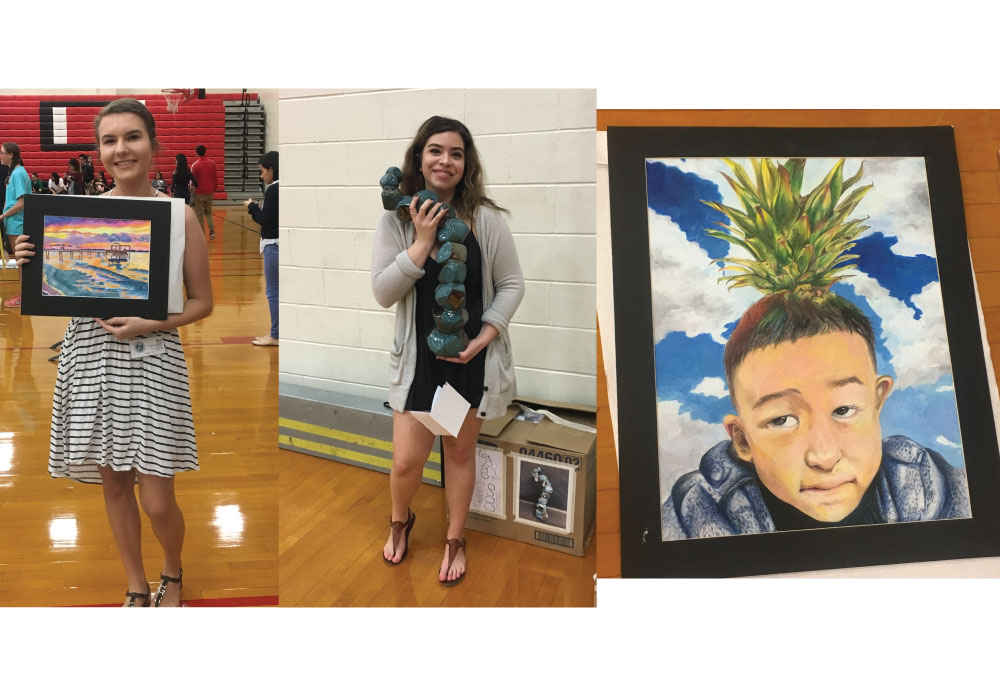 Ranchview IB Art Students Participate in Regional VASE Art Competition