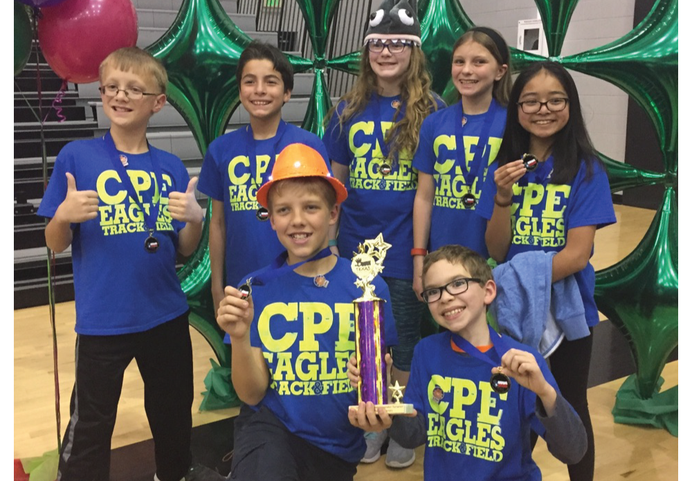 Country Place Elementary Destination Imagination team placed 1st in Regionals for the second year in a row! They are headed to the state competition in Lubbock on April 7th & 8th. Destination Imagination is open to all kindergarten through university level students worldwide. Students form teams of up to 7 members, select their preferred Challenge and work together to develop a solution to the Challenge. The Challenges are open-ended and enable students to learn and experience the creative process while fostering their creativity, curiosity and courage. The Country Place Team Manager is a 5th grade parent Abbie Sherman. Congratulations & good luck at the state tournament in April!