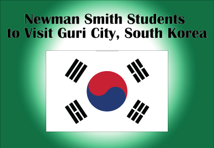 Newman Smith Students to Visit Guri City, South Korea