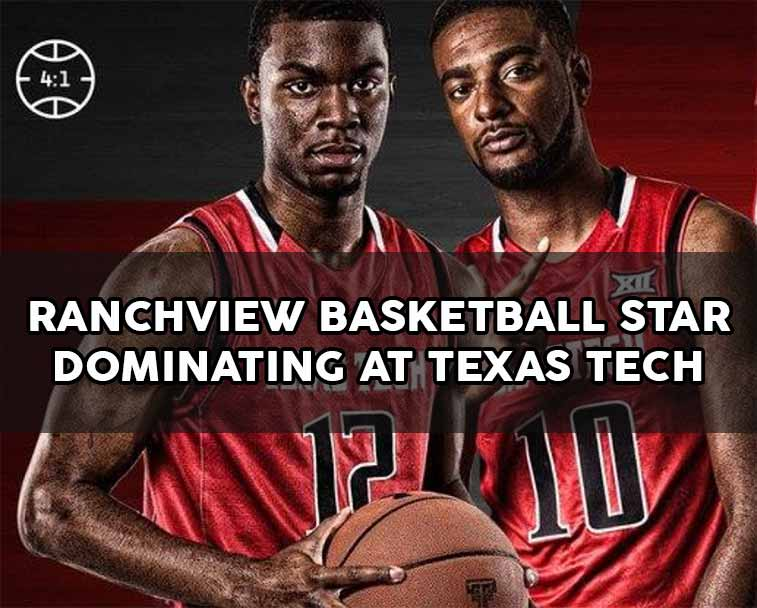 Ranchview High School Basketball player dominating at Texas Tech