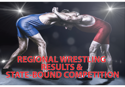Regional Wrestling Results & State-Bound Competition