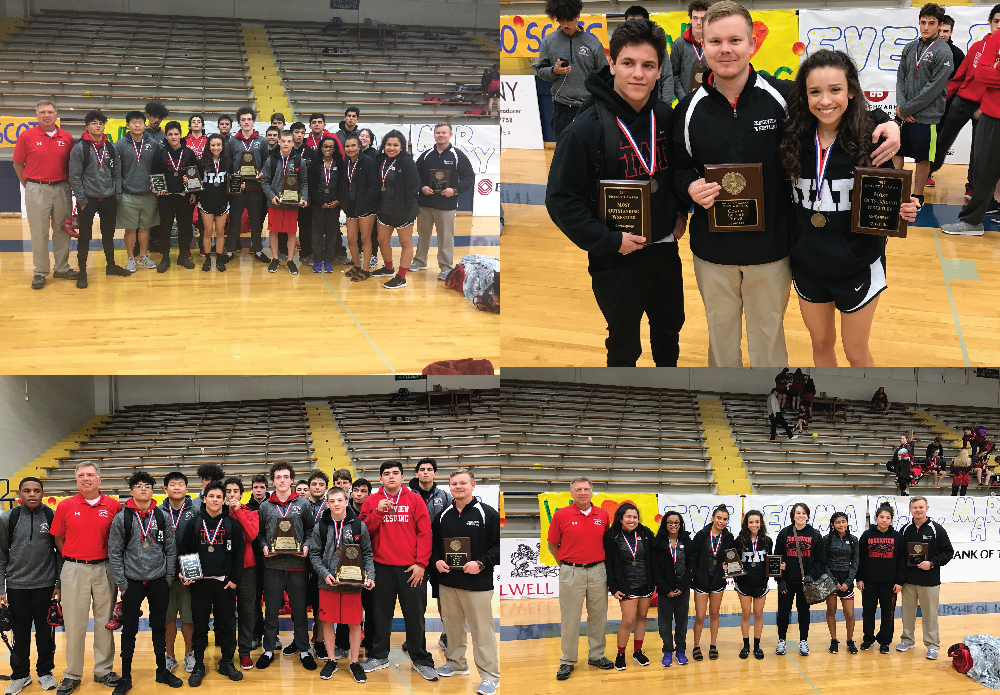 Congratulations to our Creekview Wrestlers for an OUTSTANDING showing at Districts! Lots of District Champs in several weight classes. CFB is very proud of our Mustangs! Good Luck at Regionals next week. Great job Coach Kitchens!