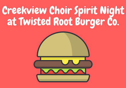 Choir Spirit Night at Twisted Root Burger (1)