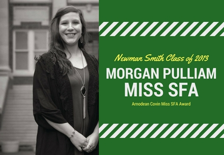 2013 NSHS Graduate, Morgan Pulliam