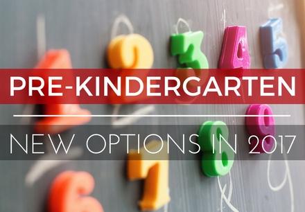New Pre-K Options