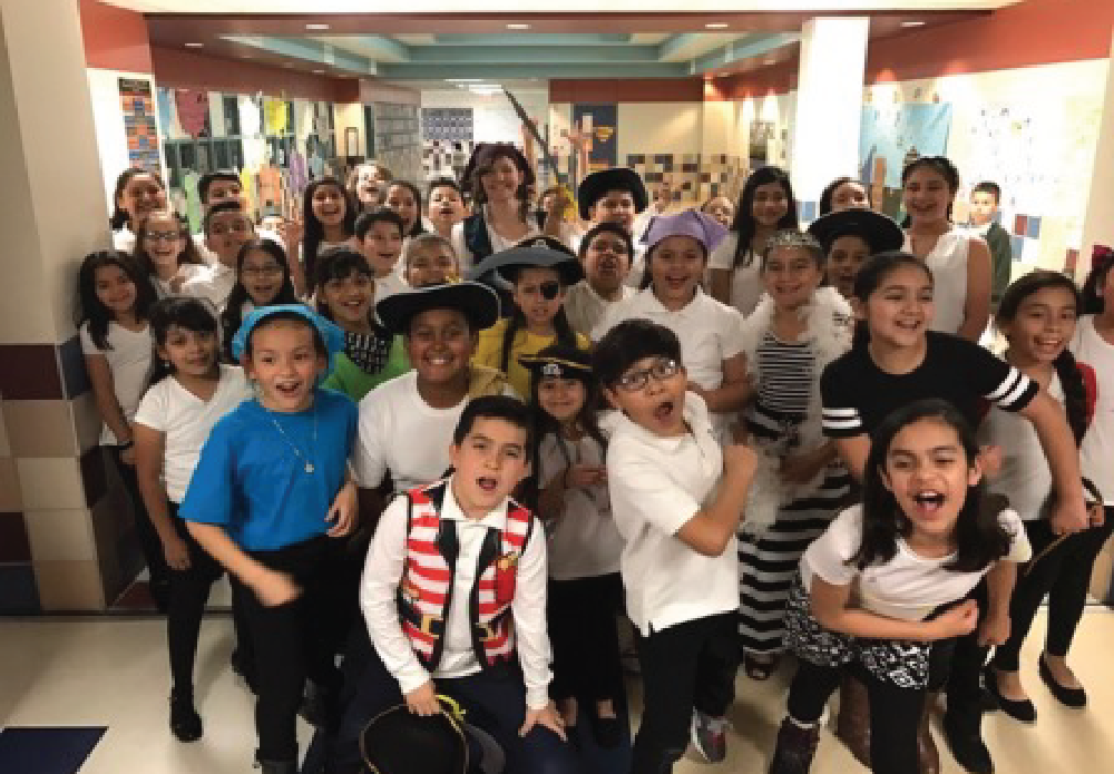 On Tuesday, March 7th, the Central Elementary Choir and the Treble Makers Percussion Ensemble performed their spring Pirates program.