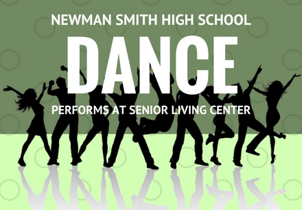 NSHS Dance Team Performs at Senior Living Center