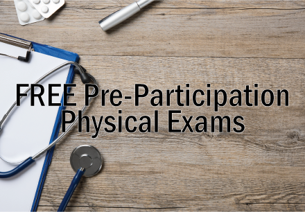 Free Pre-Participation Physical Exam