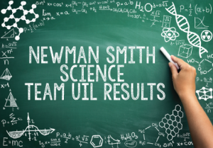 Newman Smith Science Team UIL Results