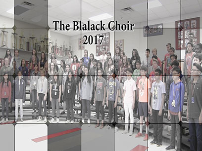 Blalck Choir 2017