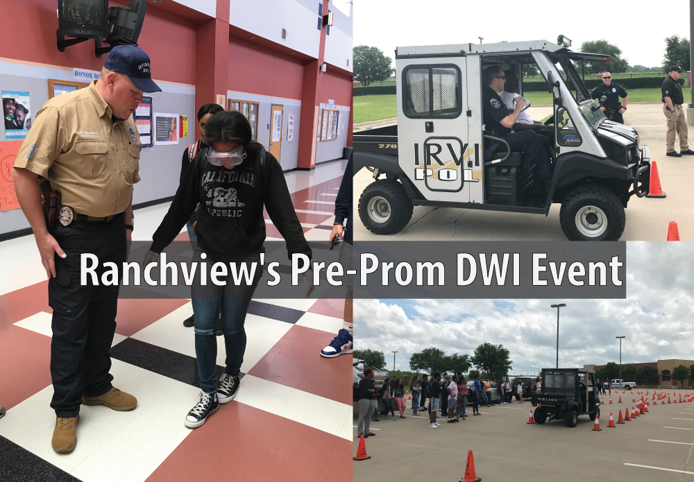 Ranchview's Pre-Prom DWI Event