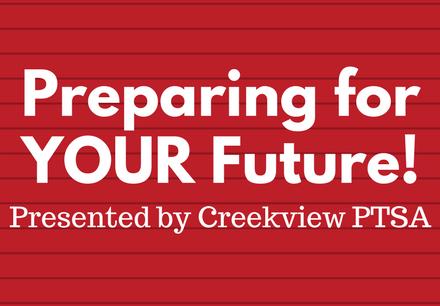 Preparing for YOUR Future!