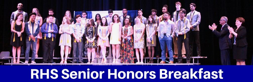 Ranchview High School Senior Honors Breakfast