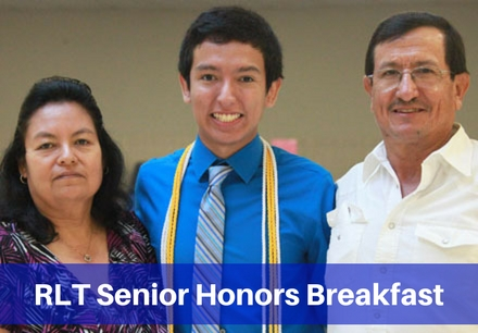 RLT Senior Honors Breakfast