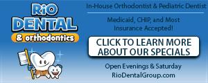 Advertisement for Rio Dental