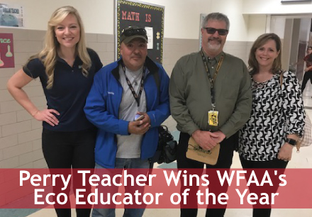 Perry Teacher Wins WFAA's Eco Educator of the Year