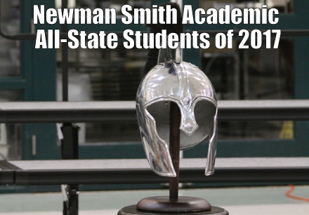 Newman Smith Academic All-State Students of 2017