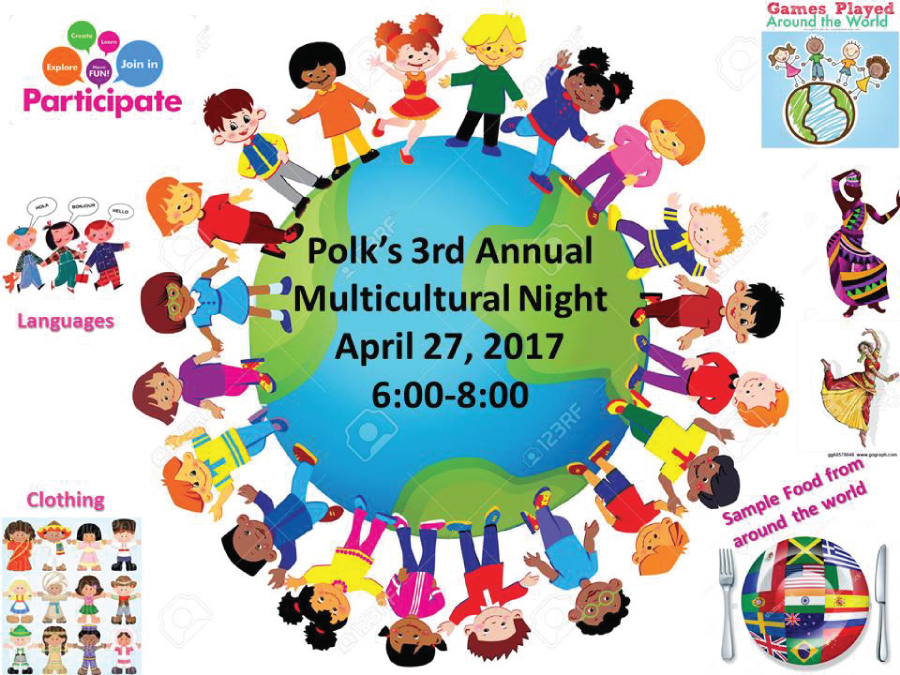 Polk Middle School Hosts 3rd Annual Multicultural Night