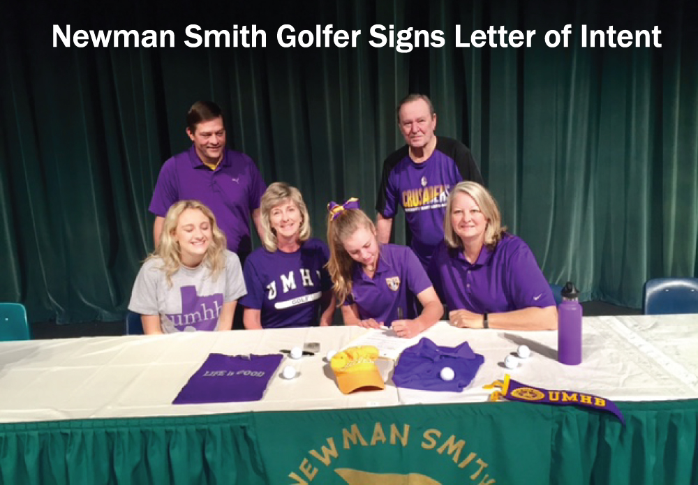 Newman Smith Golfer Signs Letter of Intent