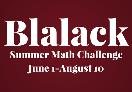 Blalack Summer Math Challenge