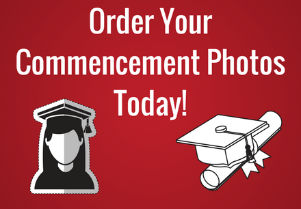 Order Your Commencement Photos Today! Click here for more information about your photo options Use Department Code CREEK77R