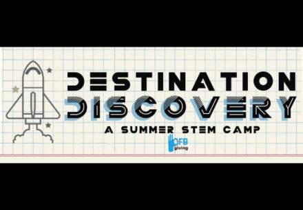 Destination Discovery - A Summer STEM Camp. Registration opens March 20th for incoming 6th,7th, & 8th graders Camp will be held at Barbara Bush Middle School June 13th-15th, 2017